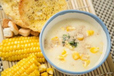 Corn Chowders and soups